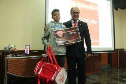 Laílson Martins sugeriu o nome Sapo Torcedor e foi premiado. (Foto: Fernando Surur)