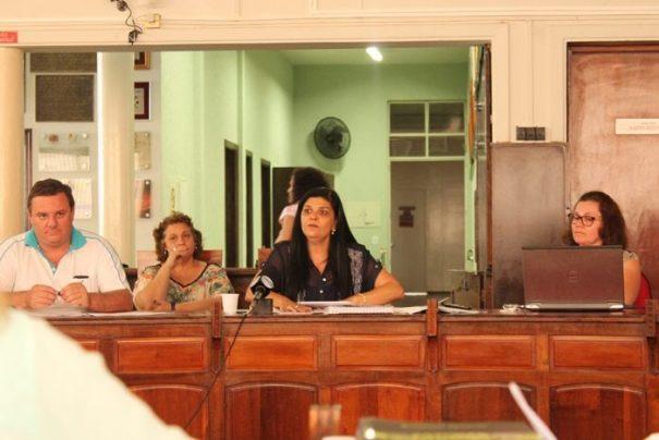 Números foram apresentados pela secretária de Finanças durante audiência na Câmara Municipal (Foto: Ana Paula Meneghetti)