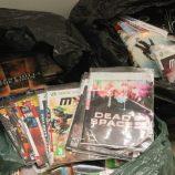 Mais de mil DVDs piratas são apreendidos pela Polícia Civil, no Centro