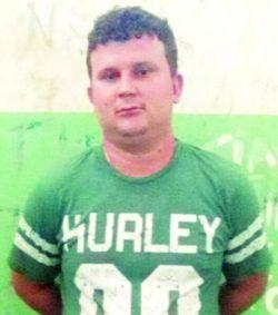 Ricardo Gordinho, 26 anos, foi preso em flagrante, na sua casa (Foto: Divulgação)