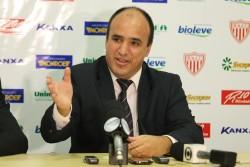 Luiz recebeu o Mogi na Série B do Brasileiro e na elite estadual. (Foto: Arquivo)
