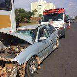 Homem passa mal, bate em ônibus e morre dois dias depois em hospital