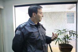 Luciano Peixoto, capitão da Polícia Militar, autará como coordenador do Conseg Rural em Mogi (Foto: Ana Paula Meneghetti)