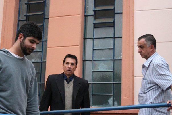 Gustavo Fonseca dos Santos, na ocasião em que prestou depoimento na Delegacia de Mogi. (Foto: Arquivo)