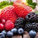 As frutas vermelhas e seus poderes antioxidantes