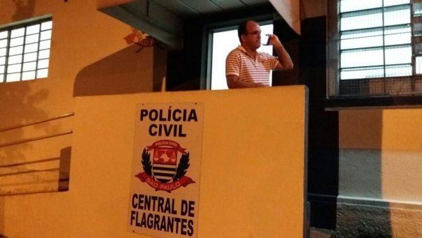 Luiz Oliveira foi à Delegacia de Votuporanga, mas boletim foi registrado na Drade, em São Paulo. (Foto: Marcelo Gotti/MMEC)