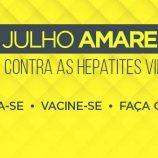 Secretaria de Saúde promove ações preventivas e de combate às hepatites virais