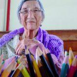 Exposição Colorrindo com Idosos segue até domingo no Centro Cultural, em Mogi
