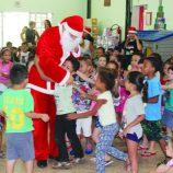 Crianças e a magia do Natal no Lar Infantil Aninha, em Mogi Mirim