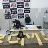 Homem é preso com 16 kg de  maconha em carro, na região da zona Leste
