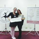 Referência em estudo de balé: Livia Francisco é reconhecida em seminário