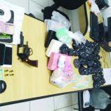 Operação da Polícia Civil prende cinco indivíduos, por tráfico de drogas