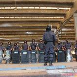 Pelotão de Choque passa por treinamento e se prepara para o Carnaval