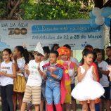 No Dia da Água, Zoológico vira sala de aula; atividades seguem nesta semana