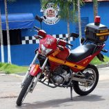 Brigada de Incêndio de Mogi Mirim ganha motocicleta; veículo foi doado pela GCM