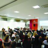O caminho verdadeiro da felicidade foi tema de palestra no ICA, com casa cheia