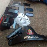 Após roubo a empresa de telefonia, 3 são presos na área central da cidade