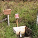 Contaminação interdita três minas de água; laudos apontaram baixa qualidade