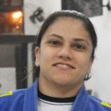 Juliana Longhi é vice no Mundial de Jiu-Jitsu, nos Estados Unidos