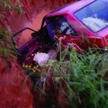 Veículo com 200 quilos  de laranja é apreendido na zona rural após colisão com trator