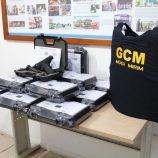 Guarda Civil recebe 15 novas pistolas e coletes devem chegar em até trinta dias