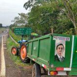 De trator, vereador irá à posse de Jair Bolsonaro, dia 1º de janeiro, em Brasília