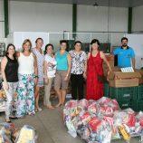 Parceria arrecada 2,5 toneladas de alimentos para programas sociais de Mogi