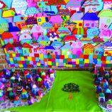 Emeb Nelson Neves de Souza, na Vila Dias, ganha cores com exposição de artes
