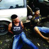 Padaria é assaltada no Nazareth e dois homens são presos em flagrante