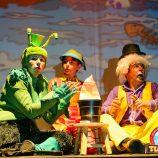 Nesta noite, Circo de Teatro Tubinho apresenta o espetáculo Pinocchio