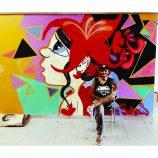 Grafiteiro André Soares faz arte nas ruas e muda cenário de uma cidade sem cor