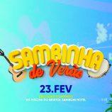 Bristol Zaniboni tem Sambinha de Verão, no sábado, dia 23, às 15h
