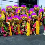Dançarinos de Mogi Mirim desfilam em escolas de samba, no Carnaval de SP