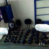 Romu apreende 790 pedras de crack e 537 tubetes de cocaína, no Flamboyant