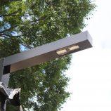 Novas luminárias na Praça Rui Barbosa serão instaladas; inauguração será em maio