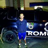 Homem acusado de tentar assalto com simulacro de arma é preso pela Romu
