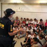Educação e Segurança conscientizam estudantes no mês do Maio Amarelo