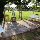 Católicos contam com espaço, dentro da cidade, para descansar e fazer orações