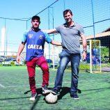 Mauro Mestriner e Polaco trazem projeto da escolinha Meninos da Vila para Mogi