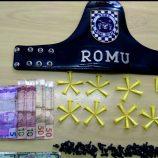 Romu prende casal acusado de tráfico em motel, em Mogi Mirim