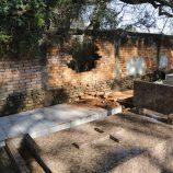 Crânios são furtados do Cemitério Municipal na madrugada de segunda