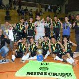 São Paulo A e Mini Craque conquistam títulos na Copa Municipal de Futsal de Base
