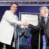 Com presença de Bolsonaro, Cristália inaugura novas instalações