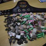 ÚLTIMA HORA: 'Operação Faro' do GOC apreende 264 porções de drogas na ZN