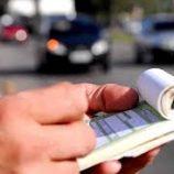 Arrecadação com multas de trânsito no 1º semestre foi de R$ 1,4 milhão