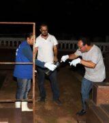 Vigilância Ambiental realiza captura de escorpiões no Cemitério Municipal