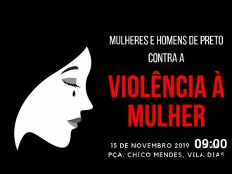 MORTE DE GENÉZIA: Passeata em combate a Violência Contra Mulher