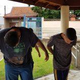 ROMU prende suspeitos de vender drogas no Saúde