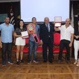 Câmara Municipal presta homenagem a boxeador