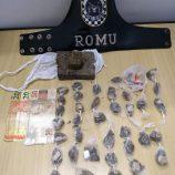 ROMU detém jovem por suspeita de comércio de drogas no Maria Beatriz